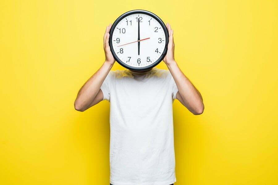 زمان حضور کاربر در سایت